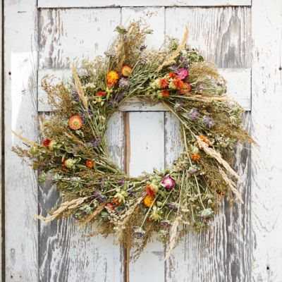 Preserved Garden Jewels Wreath