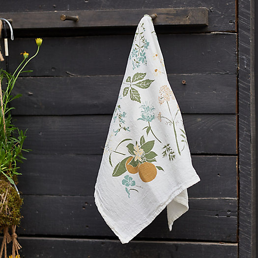 View larger image of Herb Garden Dish Towel
