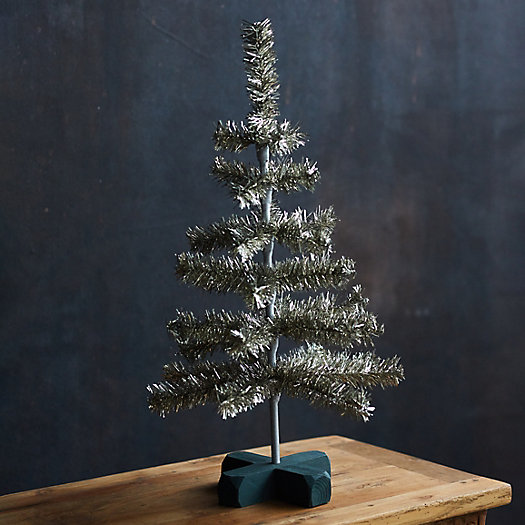 View larger image of Tabletop Tinsel Christmas Tree