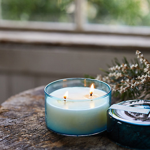 View larger image of Glass Canister Candle, Winter Collection