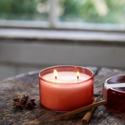Glass Canister Candle, Winter Collection