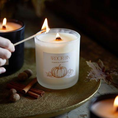 Ardor Bin Candle, Pumpkin Pimenter