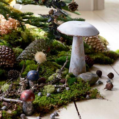 Colorful Iron Mushroom, Flat Top