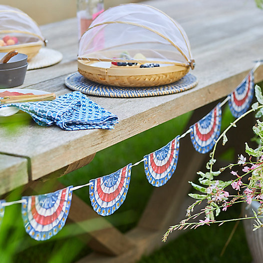 View larger image of Flag Bunting Garland