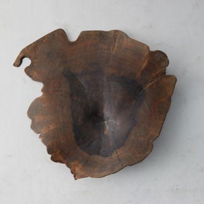 Reclaimed Wood Decorative Bowl