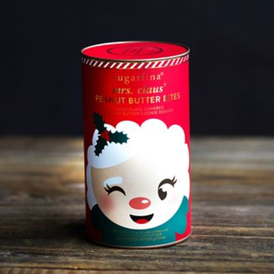 Mrs. Claus Peanut Butter Bites