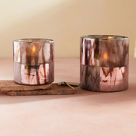 View larger image of Iridescent Lilac Votives, Set of 2