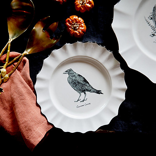 View larger image of Raven Dessert Plate