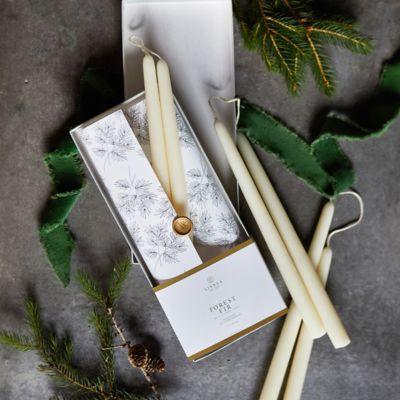 Linnea Taper Candles, Set of 6 Forest Fir