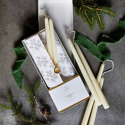 View larger image of Linnea Taper Candles, Set of 6 Forest Fir