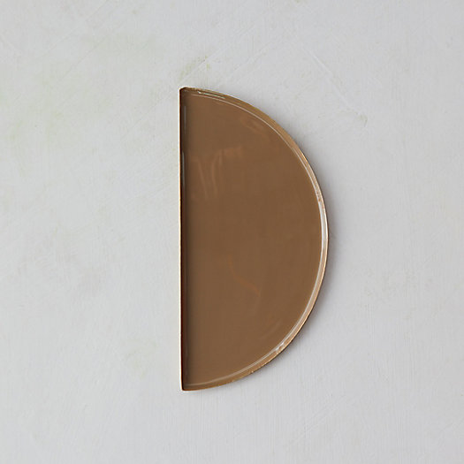 View larger image of Half Circle Decorative Enamel Tray