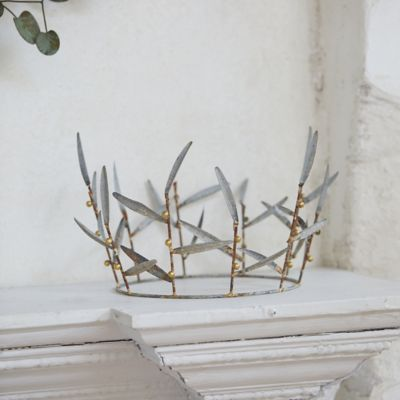 Iron Olive Branch Crown