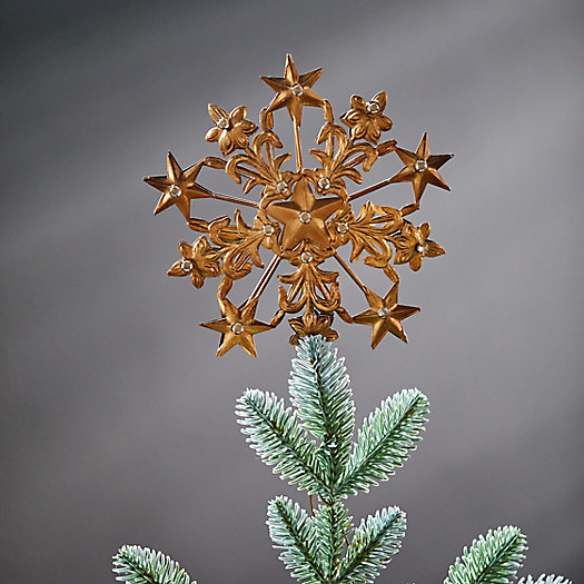 View larger image of Starry Snowflake Tree Topper