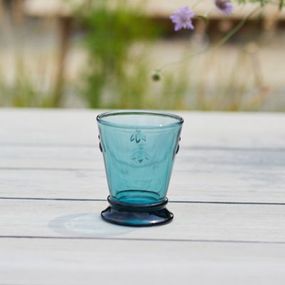 Colored Glass Bee Tumbler