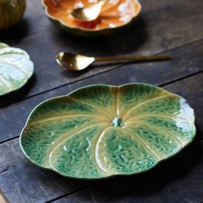 Ceramic Pumpkin Platter