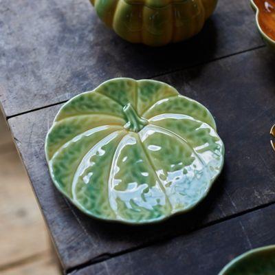 Ceramic Pumpkin Plate