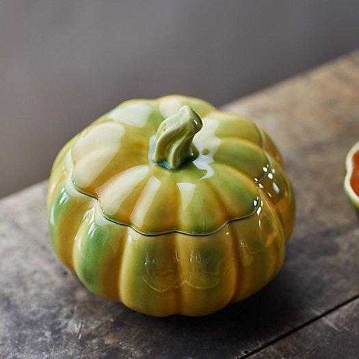 View larger image of Ceramic Pumpkin Tourine