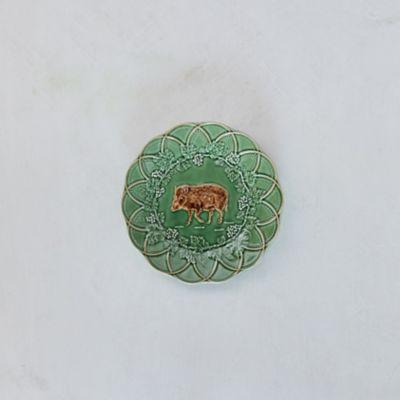 Ceramic Boar Plate