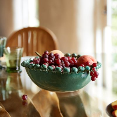 Bauble Edge Ceramic Serving Bowl