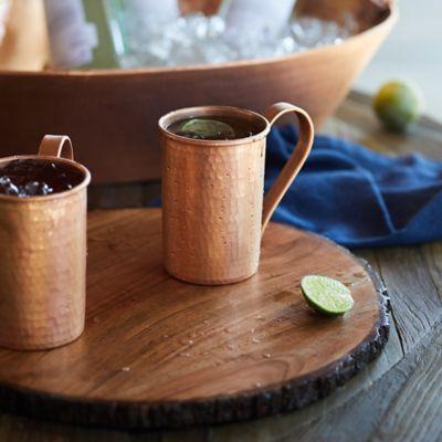Copper Mugs, 16 Ounce Set of 2