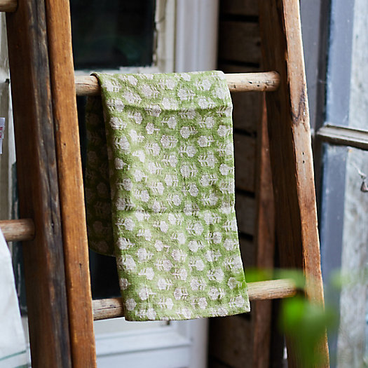 View larger image of Tulsi Floral Linen Dish Towel
