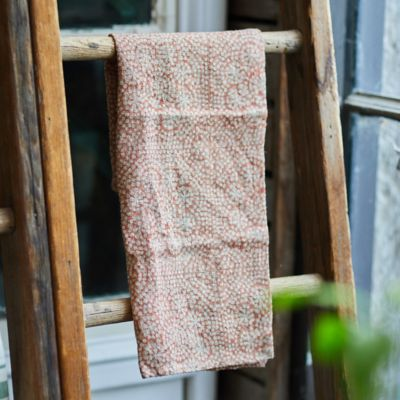 Wisteria Dot Dish Towel