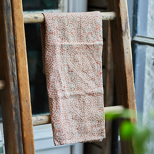 View larger image of Wisteria Dot Dish Towel