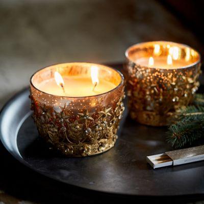 Linnea Starry Crown Candle, Forest Fir