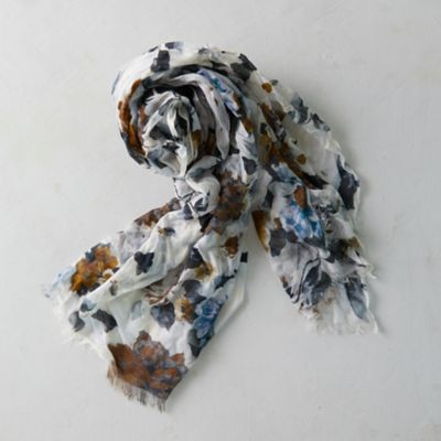 Mona Watercolors Floral Scarf