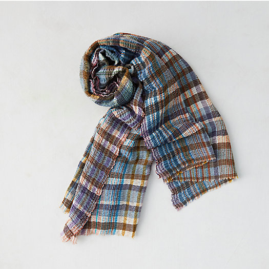 View larger image of Plaid Stripes Scarf