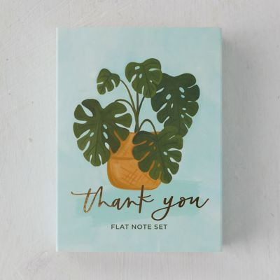 Houseplant Thank You Cards, Set of 20