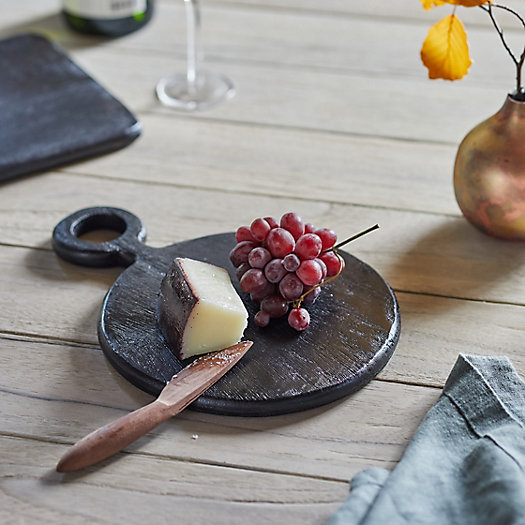View larger image of Small Wood Serving Board, Round