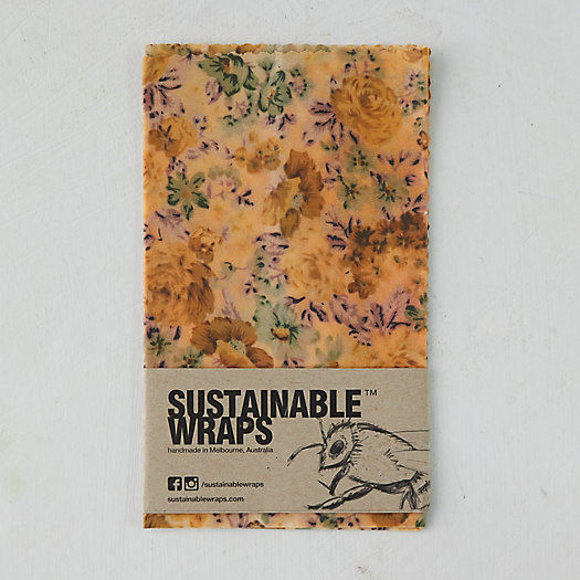 View larger image of Reusable Beeswax Food Storage Wrap, Extra Large