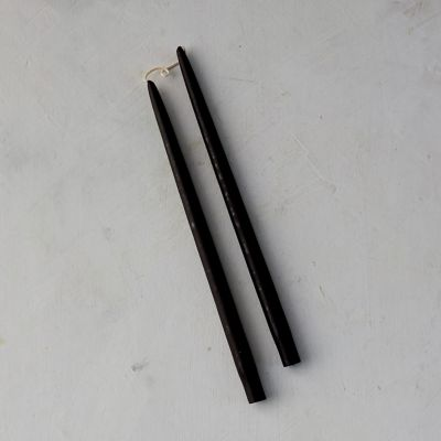 Beeswax Taper Candles, Set of 2