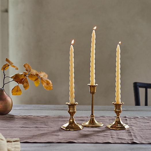 View larger image of Twisty Taper Candles, Set of 3