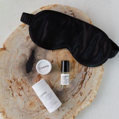 Sleep Essential Oil Roll-on + Silk Eye Mask Kit
