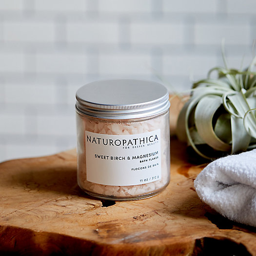 View larger image of Naturopathica Sweet Birch + Magnesium Bath Flakes