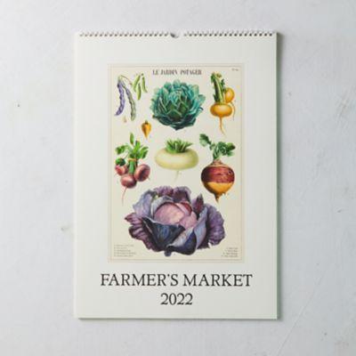 Farmers Market 2022 Wall Calendar