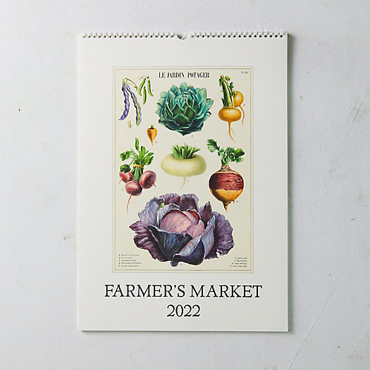 View larger image of Farmers Market 2022 Wall Calendar