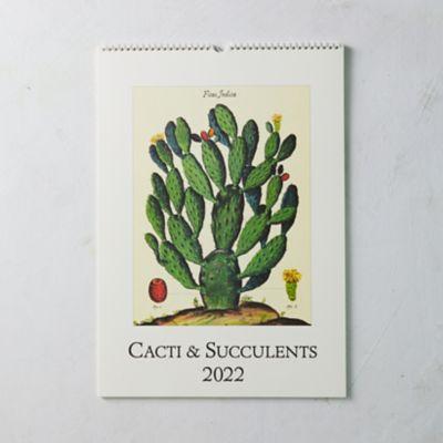 Cacti + Succulents 2022 Wall Calendar