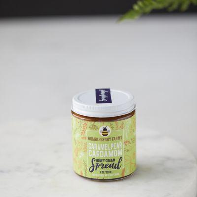BumbleBerry Farms Caramel Pear Cardamom Honey Cream Spread