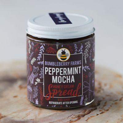 BumbleBerry Farms Peppermint Mocha Honey Cream Spread