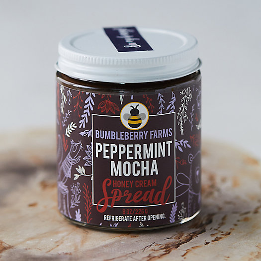 View larger image of BumbleBerry Farms Peppermint Mocha Honey Cream Spread
