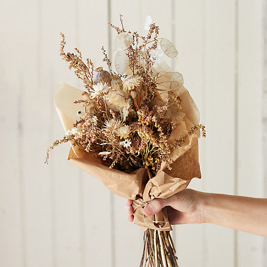 View larger image of Ashn Earth Textured Neutrals Dried Bouquet