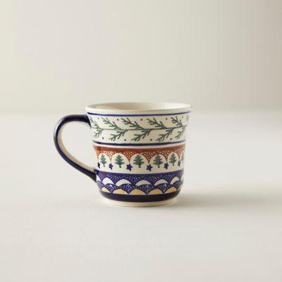 Evergreen Bough Ceramic Mug