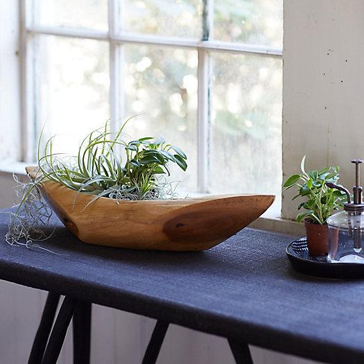 View larger image of Teak Decorative Boat Bowl