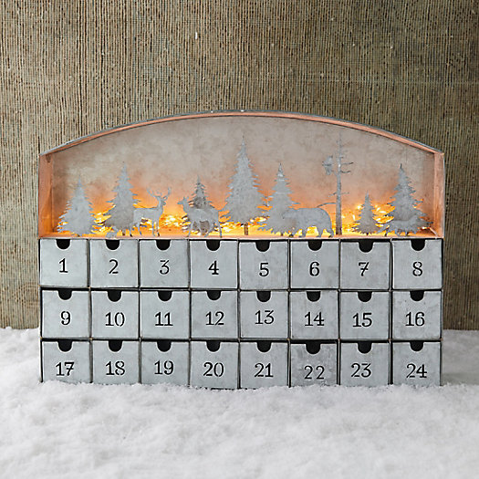 View larger image of Shop the Look: The Glowing Concordville Woodland Advent Calendar