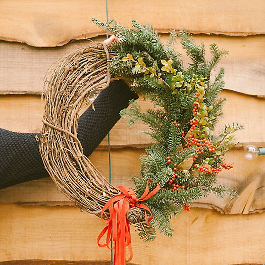 View larger image of Holiday Wreath Making Workshop, 11am