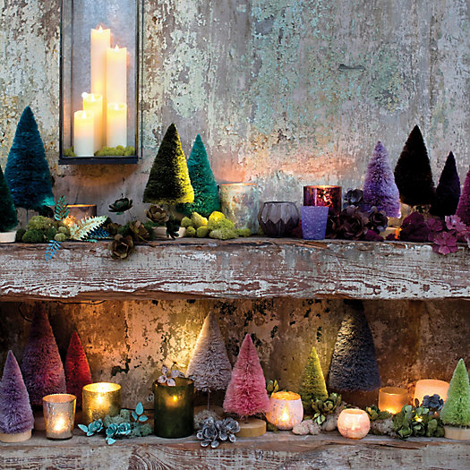 View larger image of Shop the Look: The Bottlebrush Mantle
