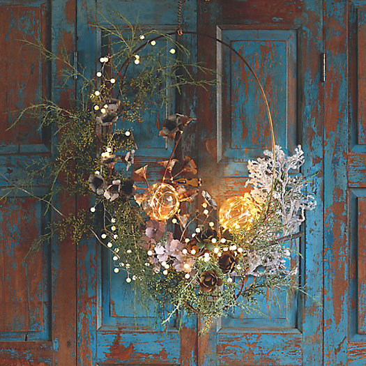 View larger image of Shop the Look: A Glowing Wreath Welcome